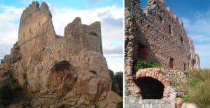 Mastio centrale del Castello Acquafredda di Siliqua